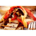 97. Varkenshaas (incl. paprika & ui)
